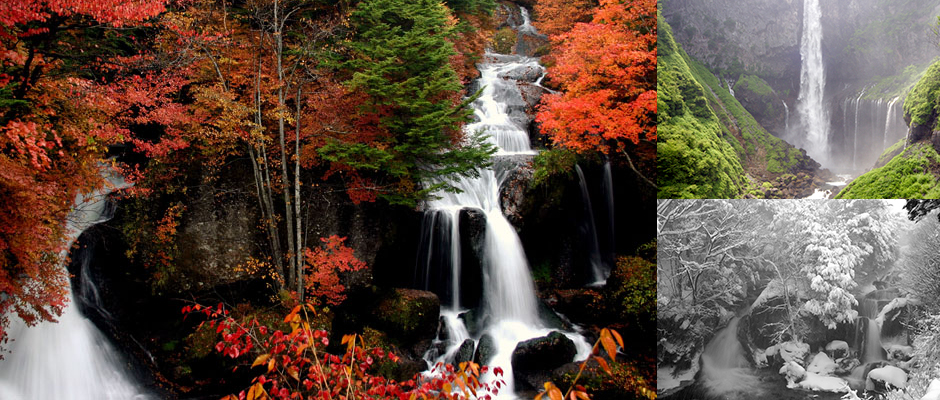 Waterfalls of Nikko